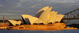天鹅般高雅——悉尼歌剧院
