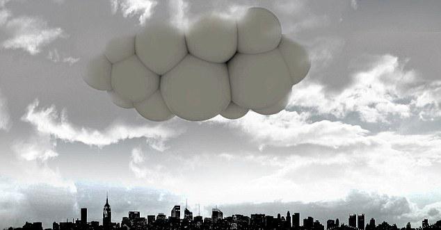 西班牙设计师构想出未来最酷飞艇形如空中城堡 乘客可漫游云端