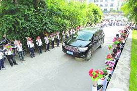 傳福建200名小學生停課歡迎領導 官方否認(圖)