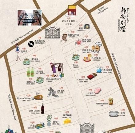 如何手绘上海地图