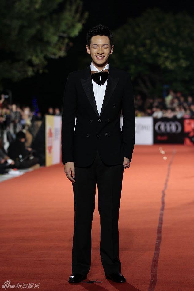 中国男明星西装照