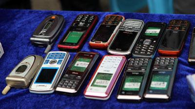 贵州电信举办'时尚环保翼起来'旧手机回收活动