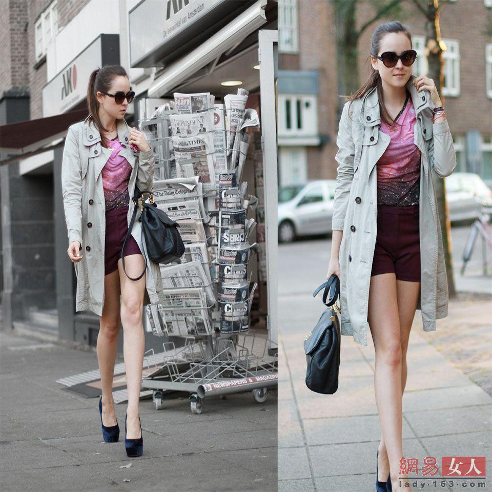 高清图:全球美女时尚街拍大搜罗