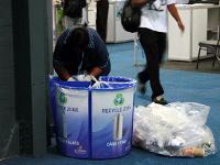 德班聯合國氣候變化大會上的清潔工