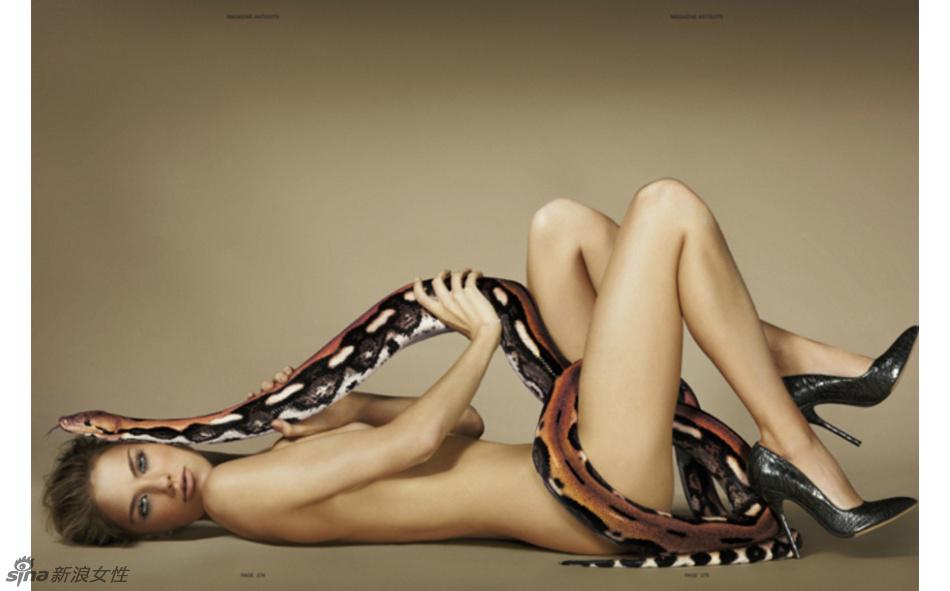 蛇蝎美人秀胴体