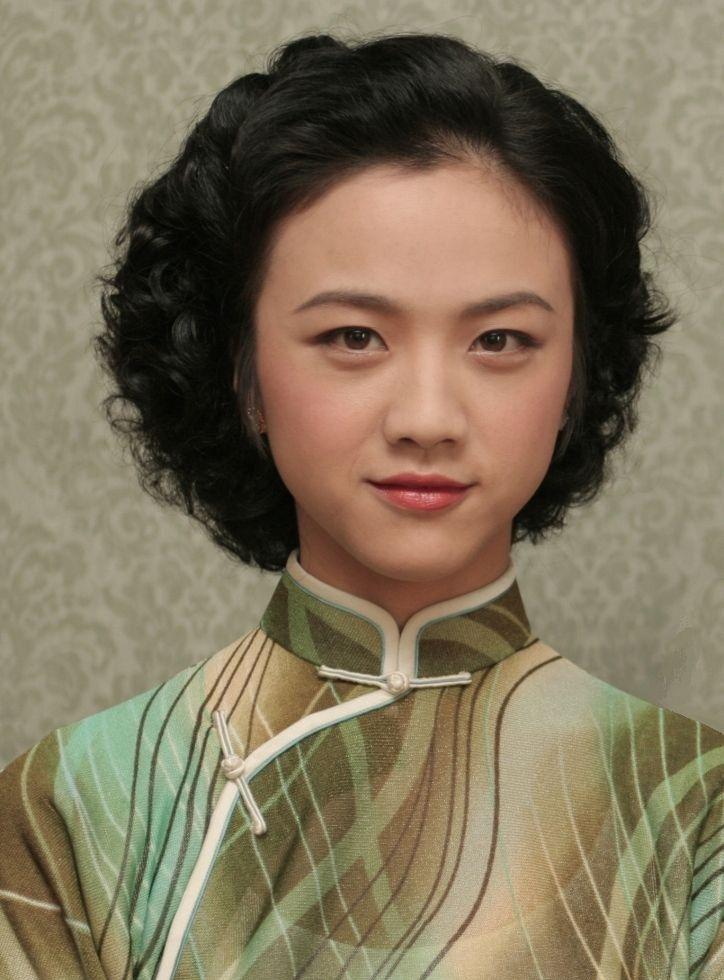 旗袍女 手绘古装