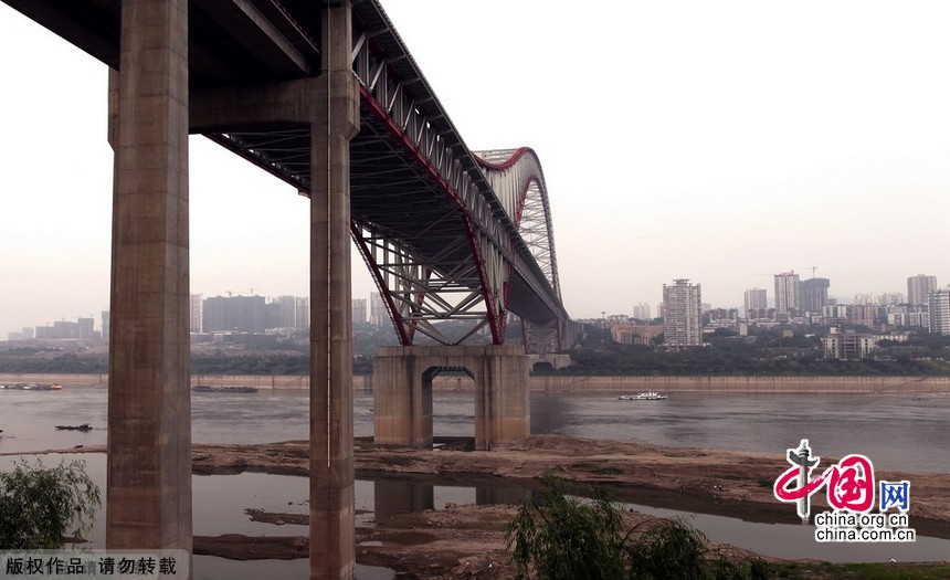 世界第一拱桥 重庆朝天门长江大桥