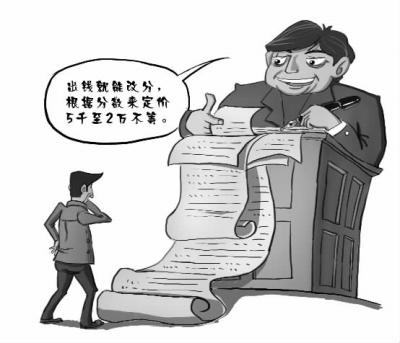 网曝大学老师明码标价卖成绩