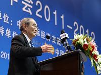 厉以宁/北京大学光华管理学院名誉院长厉以宁发表演讲...