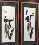 香港书法家艺术展在上海举行