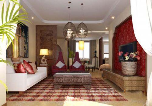 东南亚风格装修 回归自然的质朴设计