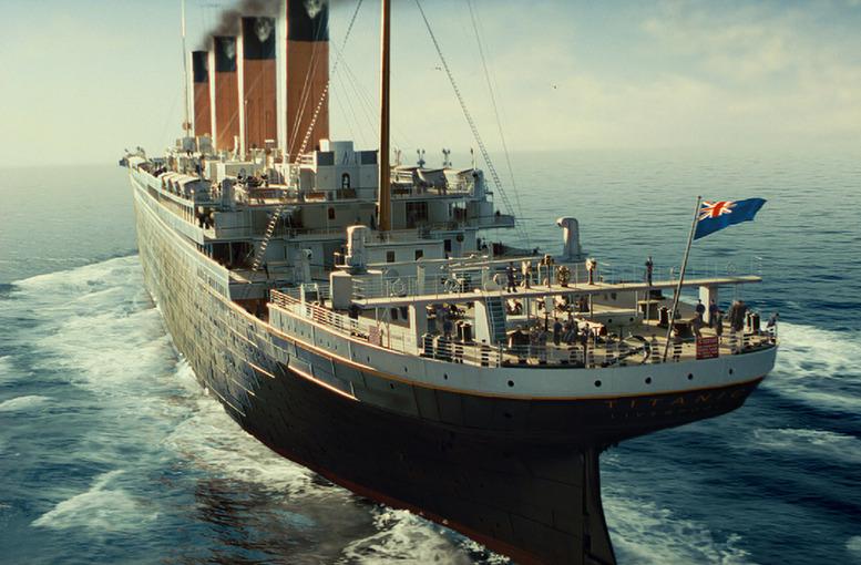 《泰坦尼克号》3d版高清剧照(组图)
