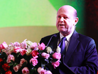 阿兰/塞舌尔旅游部部长阿兰·圣安格致辞...