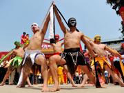 """隆安""""那""""文化旅游节暨""""四月八""""农具节开幕[组图]"""