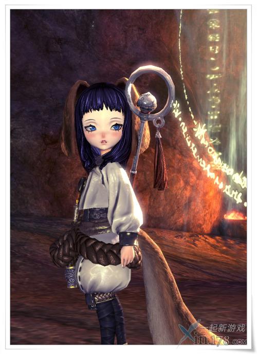 萌女和萌猫《剑灵》召唤师高清截图首发