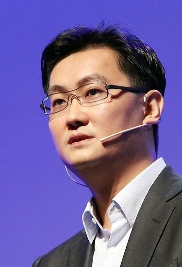 腾讯CEO马化腾 (TechWeb配图)-马化腾 腾讯需要从 大 变 斜