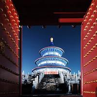 北京:天坛祈年殿夜景[高清组图]