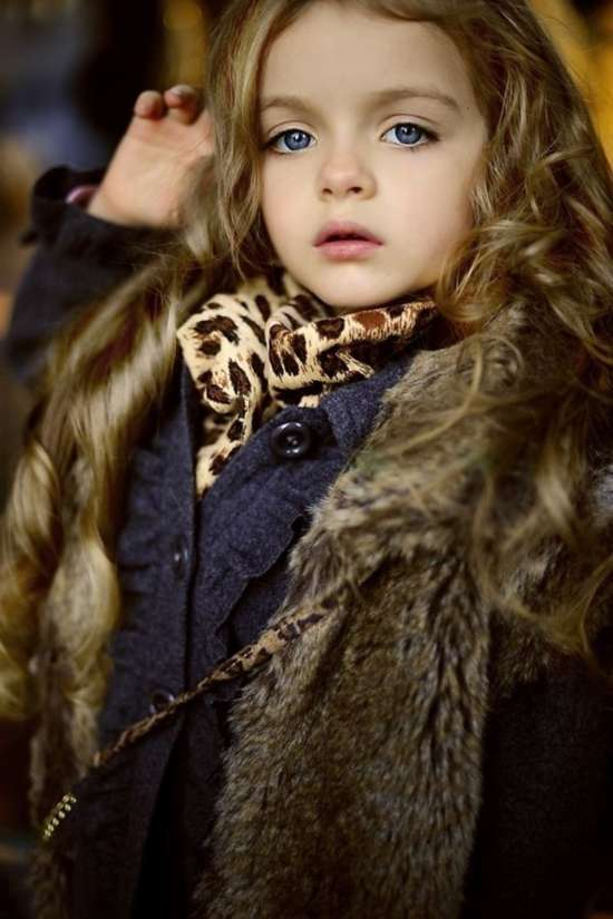 俄罗斯萝莉小模特爆红 细数童星出身的明星