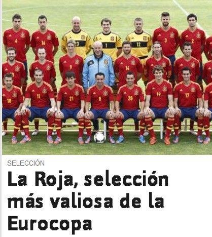 阿斯报 截屏 西班牙总身价冠绝欧洲杯