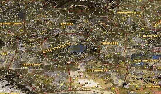 上古卷轴2地图接近河南省!让人惊呆的游戏地图