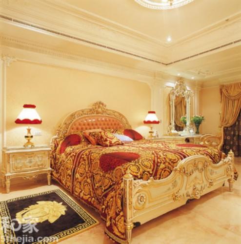 欧式皇宫风格卧室