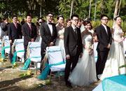 """""""塞舌尔·你我的婚礼殿堂""""越洋集体婚礼[组图]"""