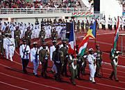 塞舌尔国家日庆祝活动:阅兵[高清]