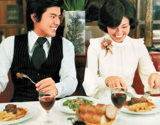 明星情感 山口百惠与三浦友和的婚前婚后图片