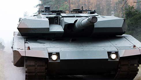 """世界最凶悍""""豹""""2主战坦克"""