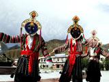 活跃在日喀则的藏戏团[组图]