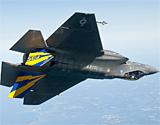 美国海军型F-35BC战机