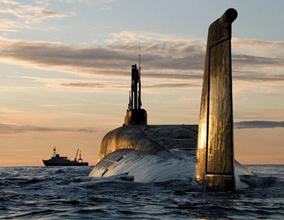 """""""北风""""级弹道导弹核潜艇"""