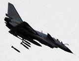 成空歼10首次高原夜间实弹攻击精确击中目标