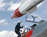 广空歼11战机成功将违规越界侦查外机逼退