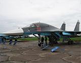 """零距离接触""""鸭嘴兽""""苏-34战斗轰炸机"""
