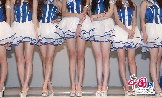 短裙诱惑 chinajoy上那些清爽养眼的短裙美女们