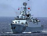 中国新一代导弹驱逐舰亮相