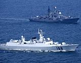 中国新一代导弹驱逐舰亮相 区域防空能力强