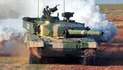 99式主戰坦克