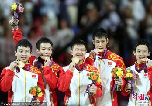 伦敦奥运:中国第九金(体操男子团体) - 星夜焰火 - .