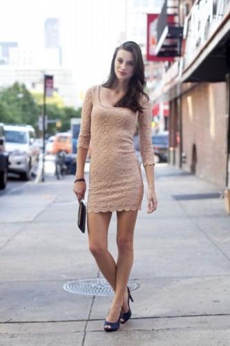 时尚街拍 长腿美女搭配圣经 超模私服出街装图片