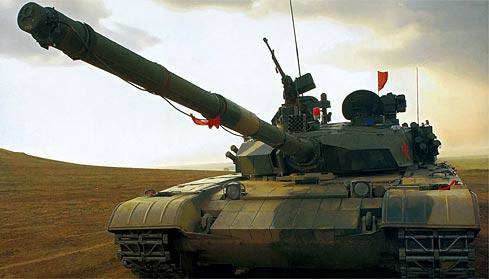 中國ZTZ-99式主戰坦克