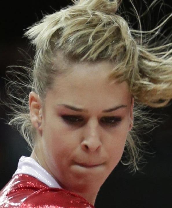 伦敦奥运赛场最搞笑最夸张的脸部表情