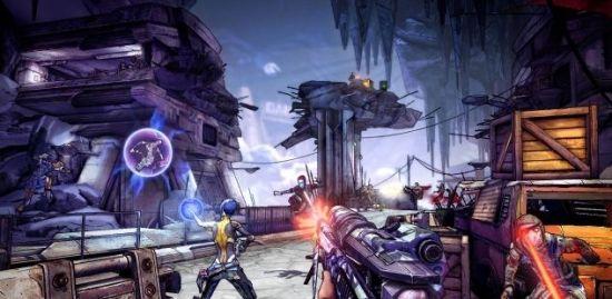 GC12:《无主之地2》最新实际游戏截图