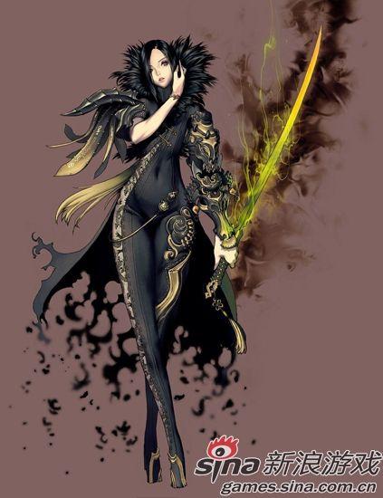 基友征服地球 《剑灵》首测人妖泛滥