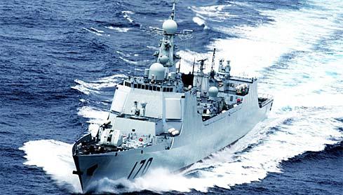 """052C型""""中华神盾""""导弹驱逐舰"""