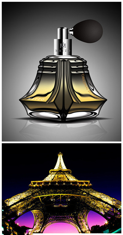 时装周大牌香水造型设计 巴黎美爵埃菲尔铁塔再拨头筹