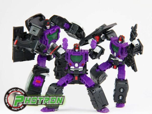 造型/三人和一单反相机造型变形金刚机器人...