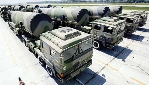 中国东风-31洲际导弹
