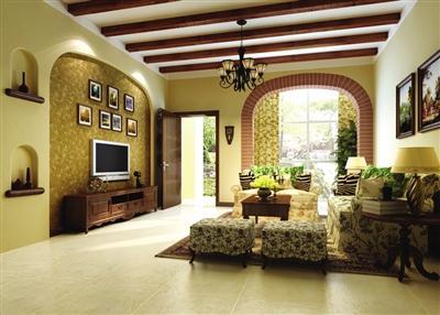 创意案例 如何让家拥有美式古典乡村的质朴含蓄高清图片